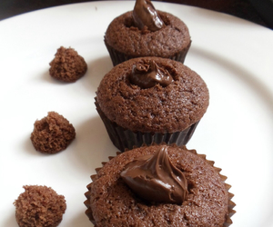 chocolate, love, and cupcakes image