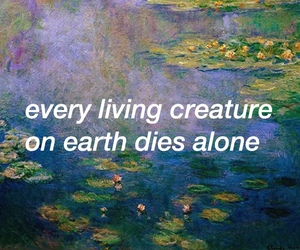 quote, art, and pale image