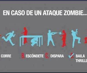 thriller and zombie image