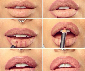 color, how to, and lips image