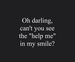 help, smile, and darling image