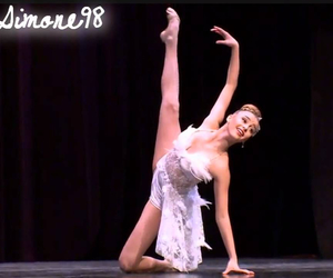 competition, Swan, and dance moms image