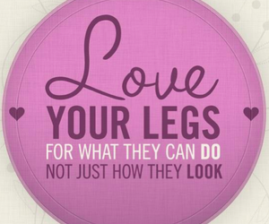legs, love, and fit image