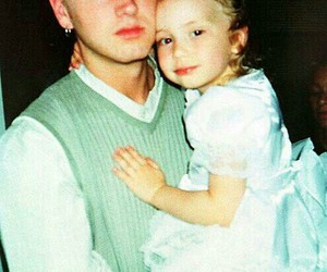 eminem, father, and hailie image