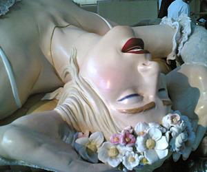 art, flower crown, and jeff koons image