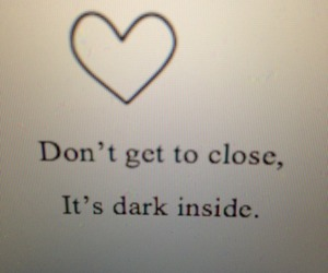 dark, quote, and demon image