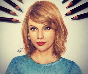 Taylor Swift, drawing, and draw image