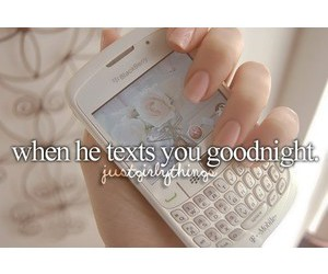 text and just girly things image