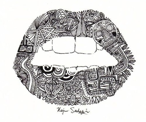 art and mouth image