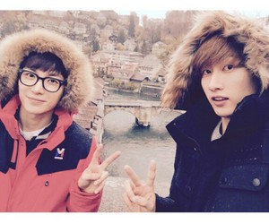 eunhyuk, Leeteuk, and super junior image
