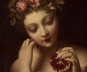 art and pomegranate image