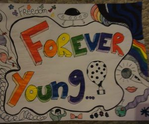 arcoiris, colorful, and Forever Young image