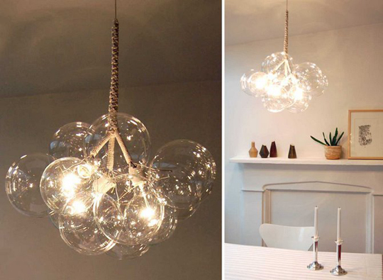 crystal chandelier, diy chandelier, and shabby chic chandelier image