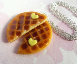 waffles, best friends, and jewelry image