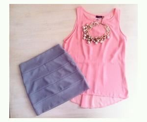fashion, girly, and skirt image