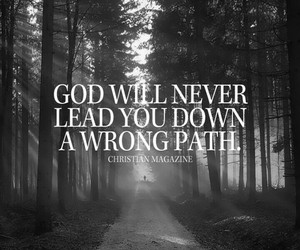 god leads your footsteps image