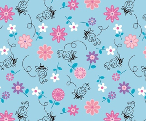 wallpaper, background, and bee image