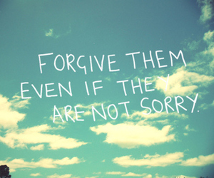 forgive, quotes, and sky image