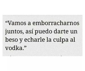 vodka, love, and kiss image