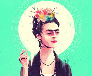 Frida, arte, and kahlo image