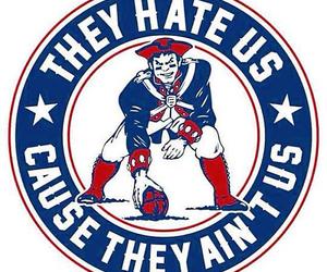 football, new england, and patriots image