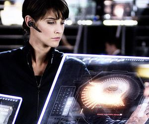maria hill, Marvel, and cobie smulders image