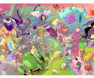 cartoon network and adventure time image