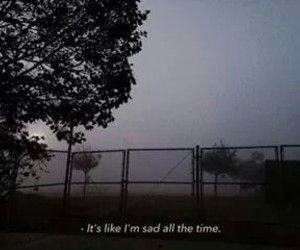 always, indie, and sadness image
