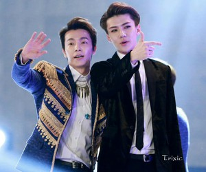 exo, donghae, and super junior image
