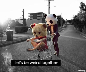 let's be weird together image