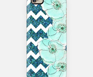 flowers, glitter, and phonecase image