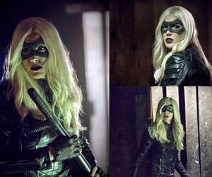arrow, Black Canary, and cw image