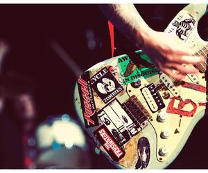 green day, guitar, and billie joe armstrong image
