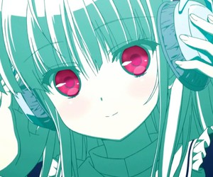 absolute duo, julie sigtuna, and anime image