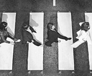 awesome, celebrities, and the beatles image
