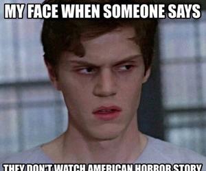 american horror story, evan peters, and ahs image