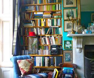 beautiful, books, and house image