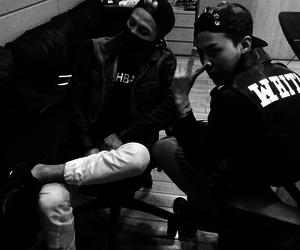 g-dragon, taeyang, and bigbang image