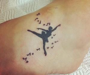 ballet, black, and dancer image