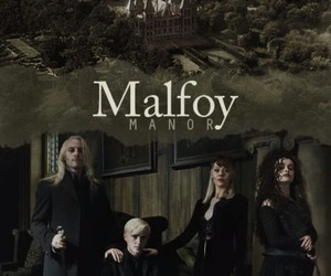 harry potter, malfoy, and lucius malfoy image