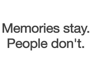 memories, people, and love image