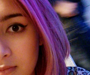 color, colored hair, and dye image
