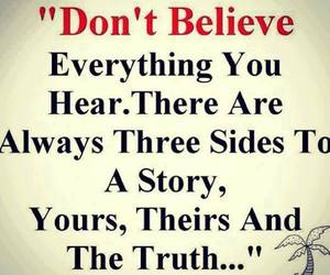 quotes, truth, and believe image