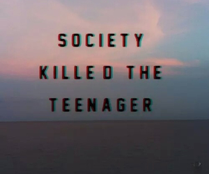 society, teenager, and grunge image