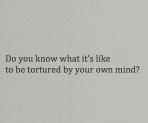 quote, mind, and depressed image