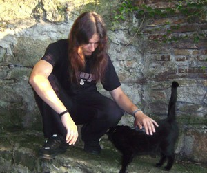 cat, heavy metal, and long hair image