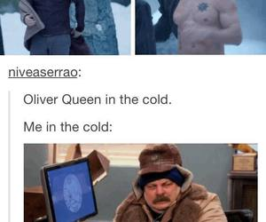 funny, oliver queen, and stephen amell image