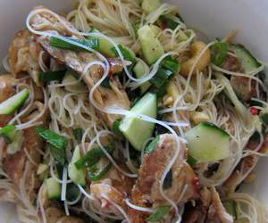 Chicken, lunch, and noodle image