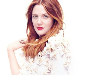 drew barrymore and dress image