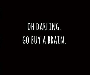 brain, quotes, and darling image